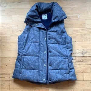 Old Navy / Blue Puffy Vest